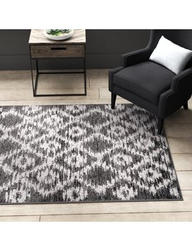 Greyleigh Connie Charcoal/Ivory Area Rug & Reviews by Greyleigh