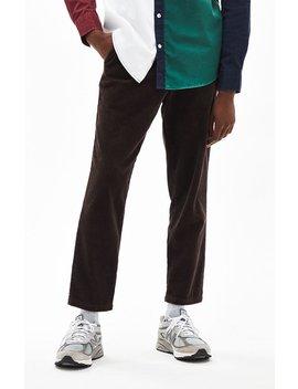 Pac Sun Slim Taper Corduroy Brown Pants by Pacsun