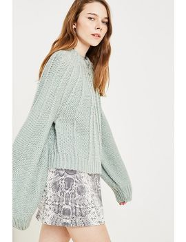 Uo Flare Rib Jumper by Urban Outfitters Shoppen