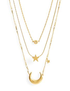 Sparkler Necklace Set by Madewell
