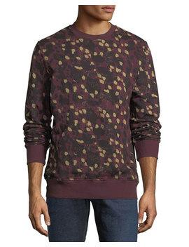 Miles Animal Printed Sweatshirt by Wesc