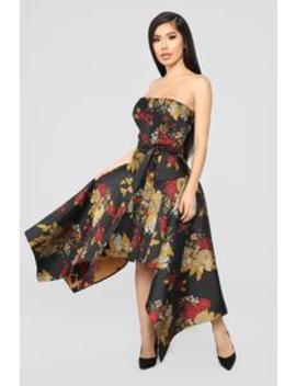 Bel Air Floral Mini Dress   Multi by Fashion Nova