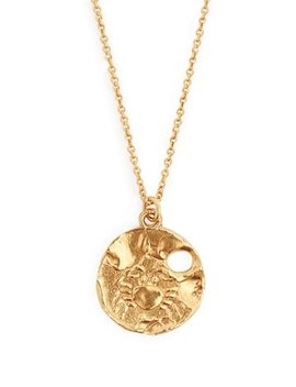 Cancer Gold Plated Necklace by Matches Fashion