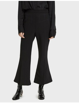 Align Vent Front Cropped Trouser by Ellery