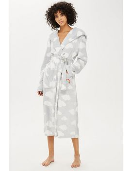 Tall Cloud Longline Dressing Gown by Topshop