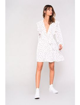 **Ditsy Skater Dress By Glamorous Tall by Topshop