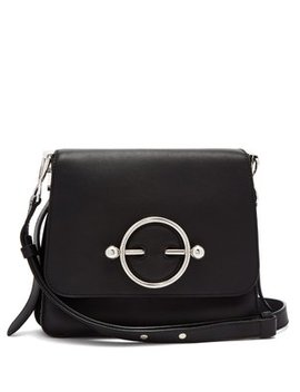 Disc Leather Cross Body Bag by Matches Fashion