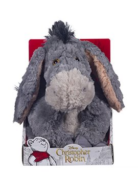 Disney Christopher Robin Collection Winnie The Pooh Eeyore Soft Toy   25cm by Posh Paws