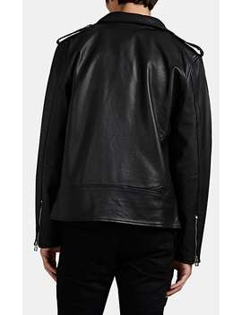 Leather Motorcycle Jacket by Barneys New York