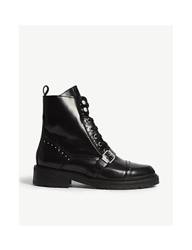 Dayna Leather Boots by Allsaints