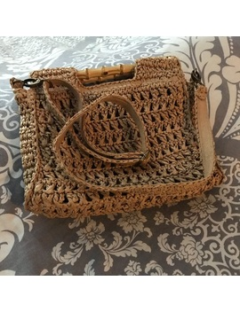 Free People Dreamland Straw Clutch by Free People