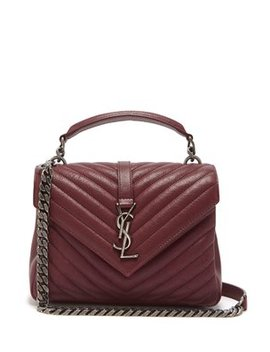 Collège Medium Quilted Leather Cross Body Bag by Matches Fashion