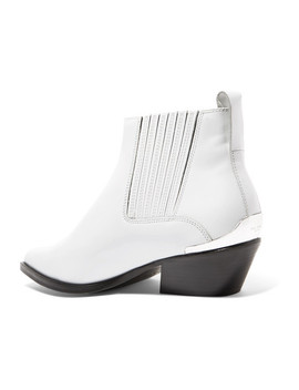 Westin Metal Trimmed Leather Ankle Boots by Rag & Bone