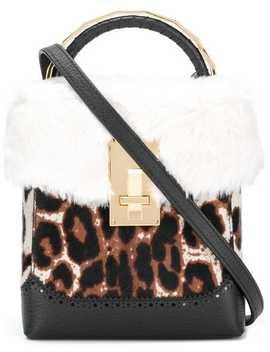 Leopard Mini Box Bag by The Volon
