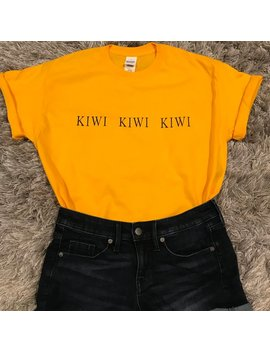 Kiwi T Shirt Inspired By Harry Styles by Etsy