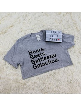 Bears Beets Battlestar Galactica Shirt, Dwight Schrute, The Office Shirt, Funny Dwight Shirt, Michael Scott, Schrute Farms, Tv Show Tshirt by Etsy