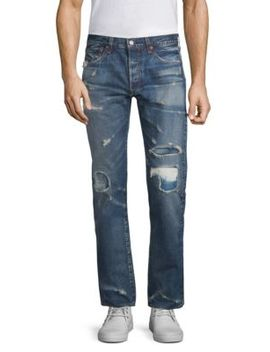 501 Original Fit Distressed Jeans by Levi's Made & Crafted