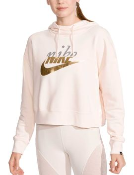 Nike Women's Metallic Rally Hoodie by Nike