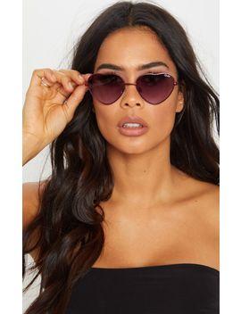 Quay Australia Purple X Elle Ferguson Collaboration Kim Sunglasses by Prettylittlething