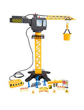 Jumbo Motorized Construction Crane Set by Discovery Kids