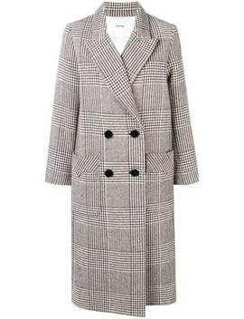 Mask Fantaisie Double Breasted Coat by Zadig&Voltaire
