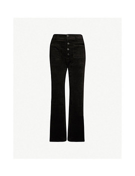 Marston Flared Corduroy Trousers by Apiece Apart