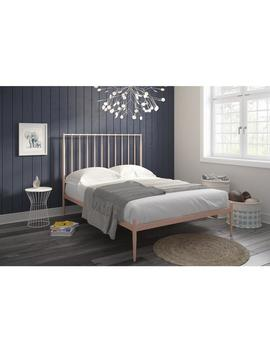 The Curated Nomad Hillard Modern Metal Bed by The Curated Nomad