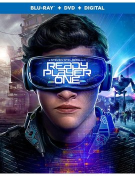 Ay/Dvd] [2018] by Ready Player One [Includes Digital Copy] [Bl