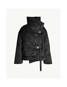 Fleur De Lis Padded Shell Down Jacket by Shoreditch Ski Club