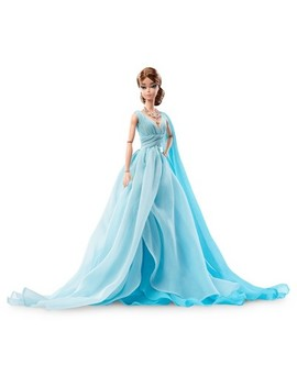 Barbie® Collector Bfmc Blue Chiffon Ball Gown Doll by Barbie