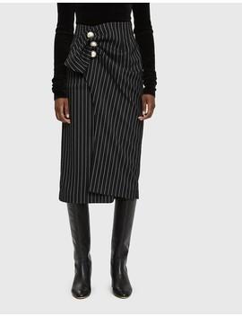 Venus Striped Skirt by KimhĒkim