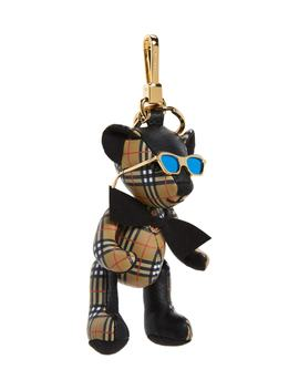 Thomas Bear Leather Charm by Burberry