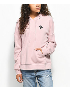 Empyre Fredia Too Bad Mauve Hoodie by Empyre