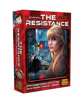 The Resistance Res2 Ibc Board Game by Indie Boards & Cards