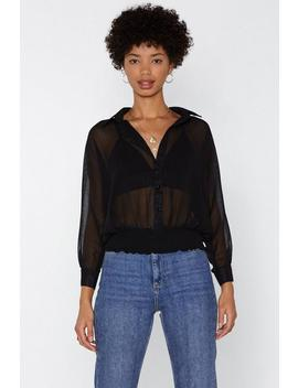 See To It Mesh Top by Nasty Gal