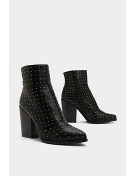 Never Pin Better Studded Boot by Nasty Gal