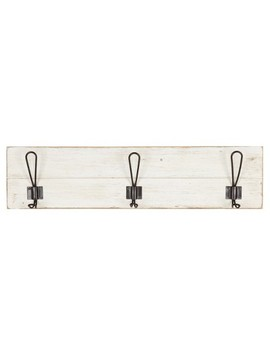 Wall Décor With 3 Hooks   White by Shop This Collection