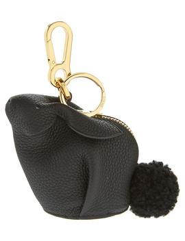 Bunny Bag Charm With Genuine Shearling by Loewe