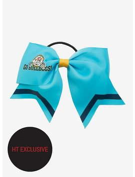 Riverdale Bulldogs Cheer Bow Hair Tie Hot Topic Exclusive by Hot Topic