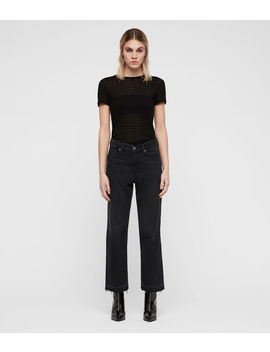 Ava Straight Ty Jeans by Allsaints