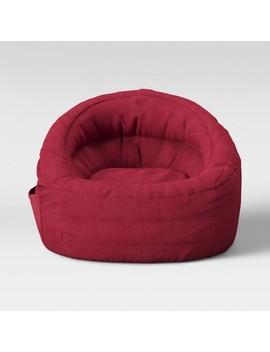 Cocoon Bean Bag Chair With Pocket   Pillowfort™ by Pillowfort