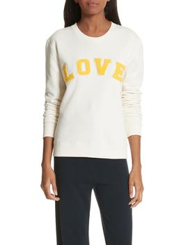 Love Cotton Terry Sweatshirt by Tory Sport