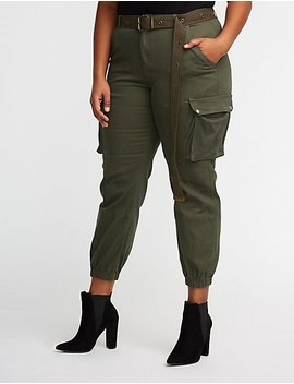 Plus Size Cargo Pants by Charlotte Russe