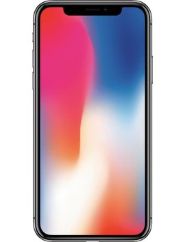 I Phone X With 64 Gb Memory Cell Phone (Unlocked)   Space Gray by Apple