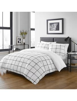 City Scene Zander Duvet Cover Set by City Scene