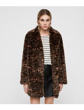 Amice Leopard Jacket by Allsaints
