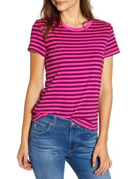 Neon Stripe Baby Tee by Stateside