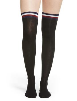 Glitter Flag Over The Knee Socks by Tommy Hilfiger