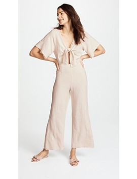 Linen Leon Jumpsuit by Rachel Pally