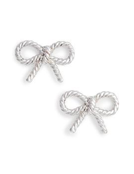 Vintage Bow Stud Earrings by Olivia Burton